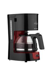 Cafeteira Cadence Caf300 Urban Compact Preto/ Vermelho 127V