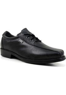Sapato Casual Dresden Forrado Em Lã Sintética Masculino - Masculino-Preto