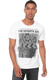 Camiseta Coca-Cola Jeans Seventh Art Branca