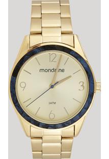 Relógio Analógico Mondaine Feminino - 53635Lpmvde1 Dourado - Único