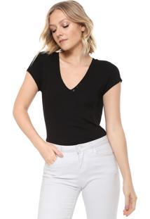 Camiseta Carmim Amanda Preta
