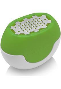 Ralador De Cítricos Em Aço Inox Verde Microplane