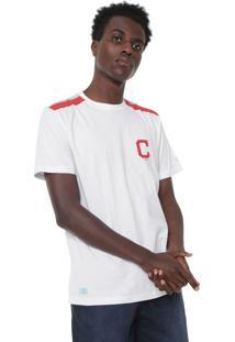Camiseta New Era Cleveland Indians Branca