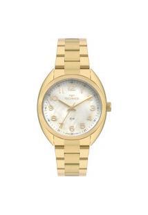 Relógio Technos Feminino Classic Analógico Dourado 2036Mla4X