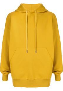 Caban Drawstring Hoodie - Amarelo