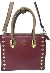Bolsa Pequena Casual Importada Sys Fashion 8530 Vermelho