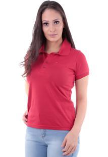 Camisa Polo Cp0722 Regular Traymon Vermelha