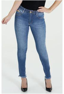 Calça Feminina Jeans Skinny Biotipo