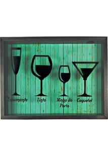 Quadro Porta Rolhas Decorativo Rustico Art Frame Ref 764