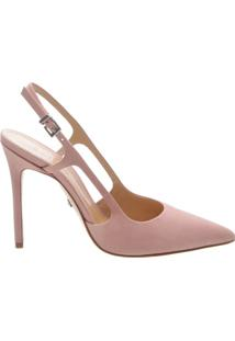 Scarpin Slingback Cut-Out Poppy Rose | Schutz