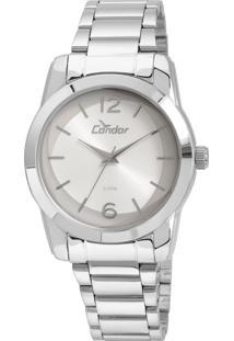 b43682c1ff5 Relógio Analógico Condor Transparente feminino
