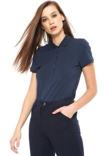 5a1bb1c8ff ... Camisa Polo Dudalina Reta Basic Azul