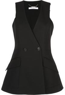 Givenchy Blazer Sem Mangas - Preto