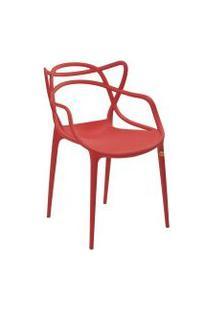 Cadeira Rivatti Allegra, Vermelho