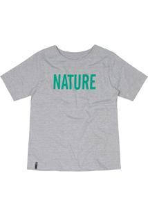 T-Shirt Nogah Nature Mescla - Cinza - Feminino - Algodã£O - Dafiti