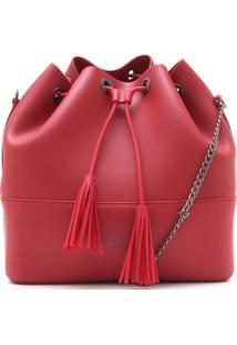 Bolsa Colcci Tassel Vermelha