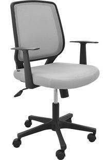 Cadeira Office Avila Cinza - Rivatti