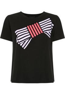 Emporio Armani Blusa Com Estampa - Preto