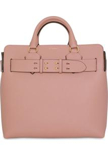 Burberry The Medium Leather Belt Bag - Rosa