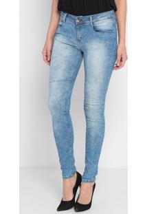Jeans Vênus Estonada - Azul Claro- Lança Perfumelança Perfume