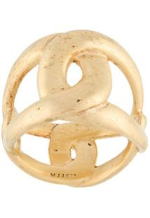 Marlene Juhl Jorgensen Flow Ring - Dourado