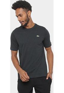 Camiseta Lacoste Live Masculina - Masculino-Preto