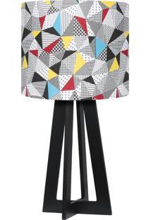 Abajur Carambola Patch Colorido - Multicolorido - Dafiti