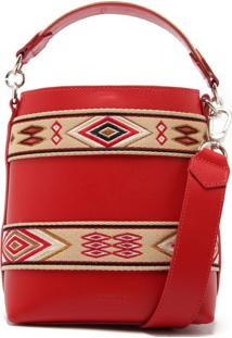 Bucket Bag Ethnic Red | Schutz