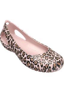 Sapatilha Crocs® Kadee Leopard- Rosa Claro & Marromcrocs