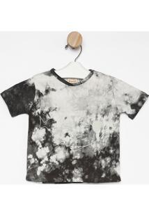 Camiseta Estonada Baleia- Branca & Cinzagreen
