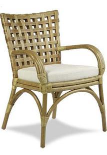 Cadeira Traço Junco Envelhecido Estrutura Apuí Eco Friendly Design Scaburi