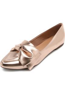 Sapatilha Dafiti Shoes Nó Cobre