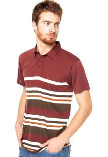 Camisa Polo Billabong Mix Up Ss Vinho