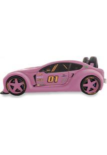 Cama Carro Zmax Racing - Rosa - Rosa - Dafiti