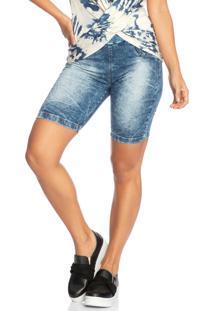 Bermuda Jeans Azul Janfer