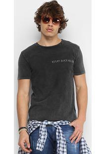 Camiseta Replay Black Holiday Masculina - Masculino