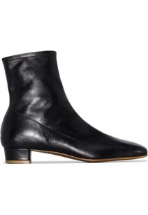By Far Ankle Boot Este Com Salto 25Mm - Preto