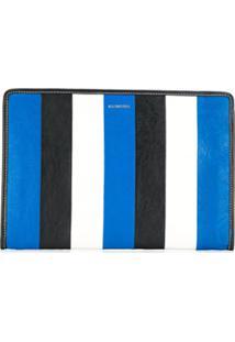 Balenciaga Bazar Clutch - Azul