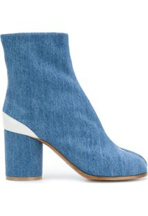 Maison Margiela Ankle Boot Jeans 'Tabi' - Azul