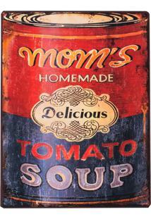 Placa Decorativa Tomato Soup