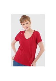 Camiseta Cantão Logo Vermelha