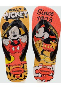 Chinelo Havaianas Masculino Mickey Disney Stylish 0486