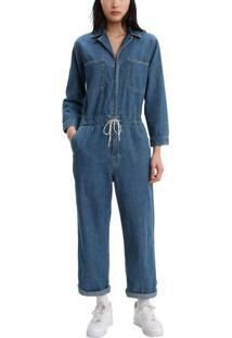 Macacão Jeans Levis Luella Jumpsuit - Xs