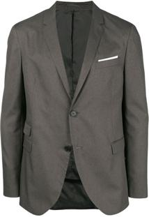Neil Barrett Blazer Clássico - Cinza