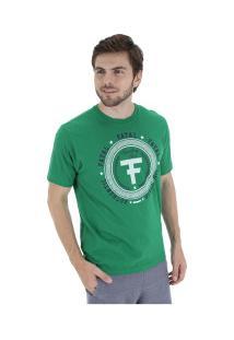 Camiseta Fatal Estampada 20285 - Masculina - Verde