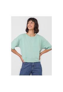 Blusa Hering Ampla Verde