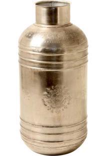 Vaso Decorativo De Metal Indiano Yamuna Grande