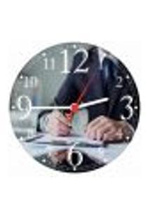 Relógio De Parede Contabilidade Economia Escritórios Quartz Decorações