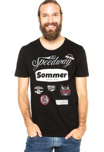Camiseta Sommer Lav Preta