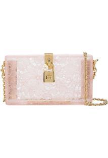 Dolce & Gabbana Bolsa Transversal Dolce Box - Neutro